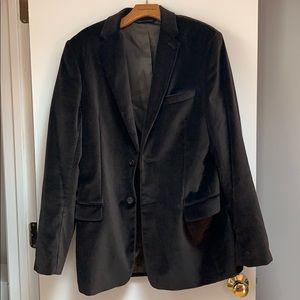 Men's Banana Republic velvet sport coat
